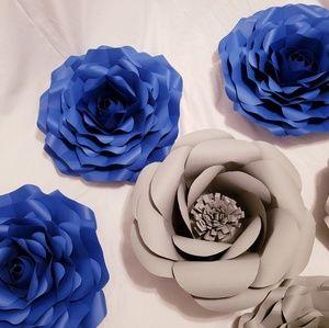 Paper flowers - roses